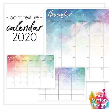 printable  monthly calendar australian capital act