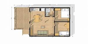 Maison Modulaire Bois : habitat modulaire en bois modulob 40b de 40 m terrasses ~ Melissatoandfro.com Idées de Décoration