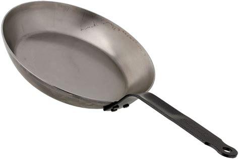 de buyer acier carbone steel frying pan cm