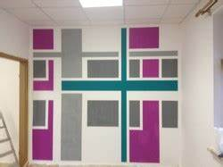 Wandgestaltung Mit Klebeband : raufasertapete muster und ideen durch geschicktes abkleben umsetzen ~ Markanthonyermac.com Haus und Dekorationen