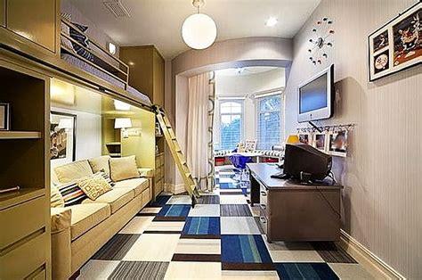 cool guys rooms bedroom designs modern bunk beds in teenage boys room