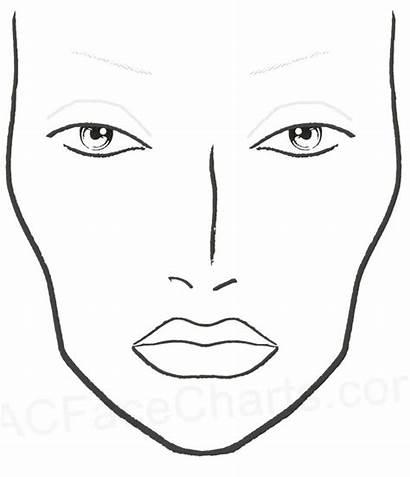 Face Charts Mac Makeup Blank Chart Printable
