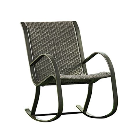 view resin wicker rocker chair deals at big lots