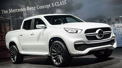 Mercedes Benz X Class Pickup Revealed [price, Release
