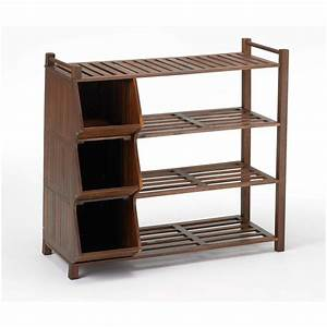 Merry, Products, U2122, 4-tier, Outdoor, Shoe, Rack, And, Cubby