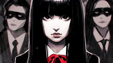 Kill Bill Anime Wallpaper - ilya kuvshinov gogo yubari fan black hair