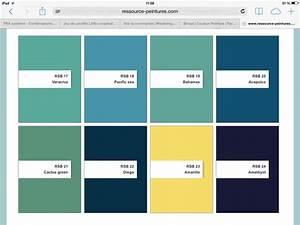 bleu vert bleu vert pinterest With nuances de bleu peinture