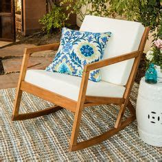 1000 ideas about outdoor rocking chairs on