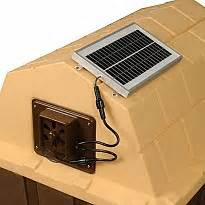 dp hunter insulated doghouse insulated doghouses by With solar powered exhaust fan for dog house