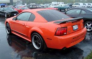 Competition Orange 2004 Mach 1 Ford Mustang Coupe - MustangAttitude.com Photo Detail
