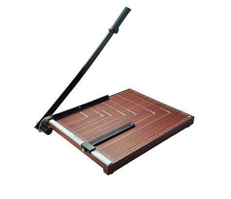 wooden board paper cutter wooden base