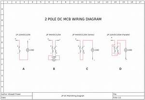 Double Pole Dc Mcb In Parallel - Accessories