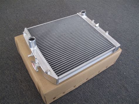 Dual Core Aluminum Radiator For Honda Civic Del Sol 92-00