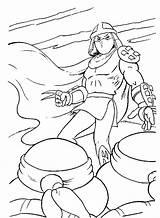 Coloring Pages Shredder Tmnt Splinter Michelangelo Boys Template Coloringtop sketch template