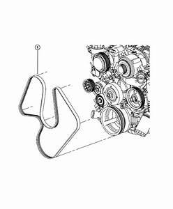 Dodge Ram 1500 Belt  Serpentine   Air Conditioning