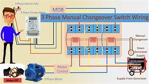 How To Use 3 Phase Manual Changeover Switch
