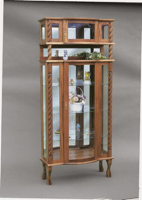Furniture Curio Cabinet by Amish Furniture Curio Cabinets And Display Cases From