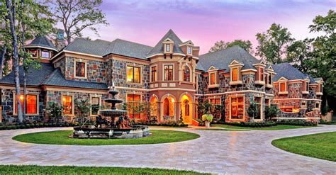 luxury houston texas mansion for sale by auction supreme