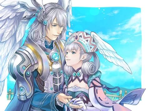 Kalian And Melia Xenoblade Chronicles Fan Art Anime