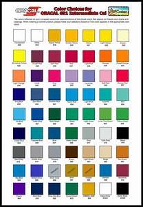 Htv Color Chart Solid Color Oracal 651 Vinyl Outdoor Window Decals