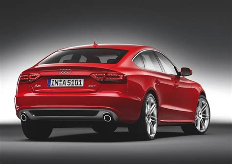 audi sportback images audi a5 sportback history of model photo gallery and
