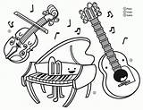 Coloring Instruments Instrument Musical Printable Drawing Clipart Getdrawings Popular Getcolorings Library Clip Divyajanani sketch template