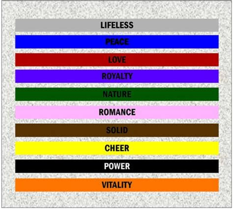 What Color Mood Are You In This Morning Various Room