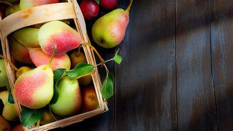 Wallpaper Pear, Fruit, 4k, Food #15351