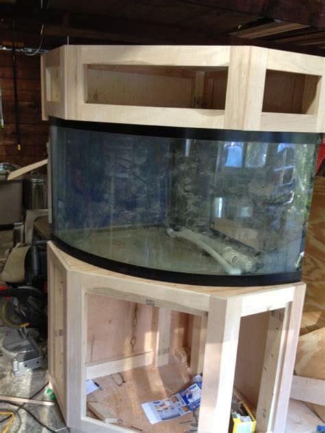 gallon corner aquarium stand  canopy  schlegelii
