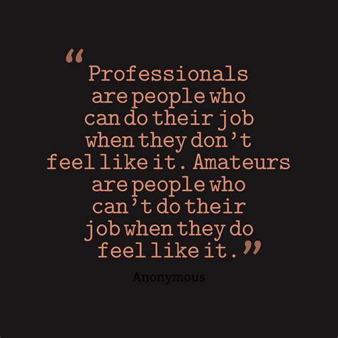 Picture » Anonymous Quote About Career