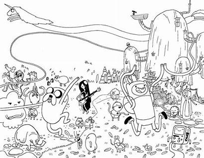 Adventure Coloring Pages Jake Finn Colouring Printable