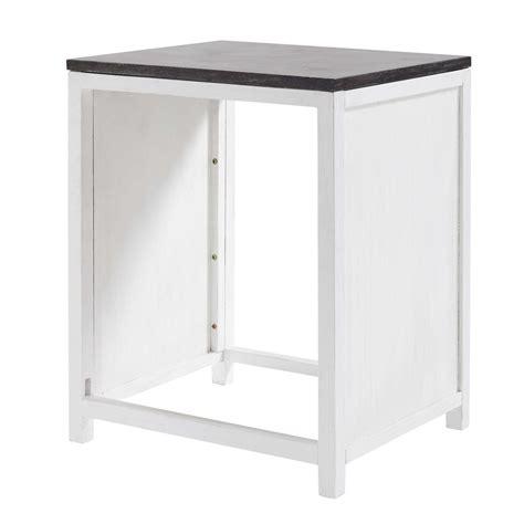 meuble de cuisine en pin meuble de cuisine en pin recyclé pour lave vaisselle l 64