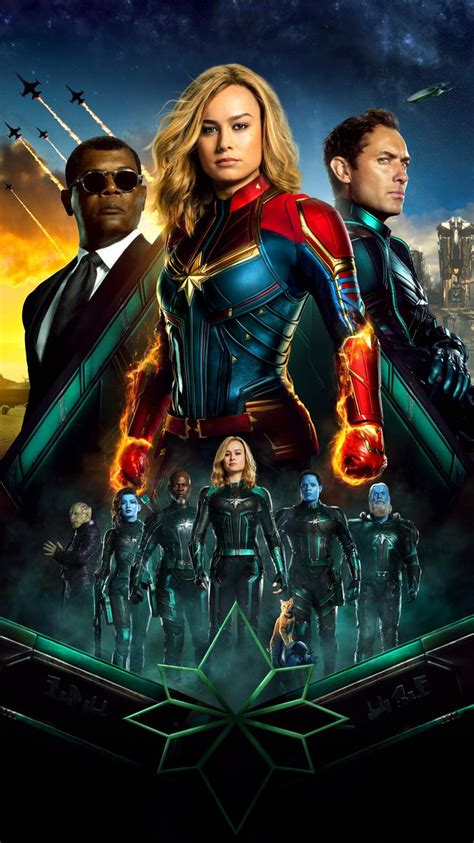 See more ideas about watercolor wallpaper iphone, watercolor wallpaper, aesthetic wallpapers. Captain Marvel (2019) Phone Wallpaper | Marvel movie posters, Marvel films, Captain marvel