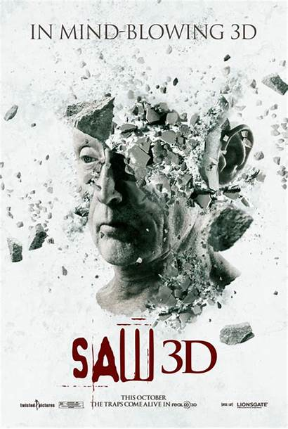 Saw Poster Posters Animated 3d Franchise Inspiration