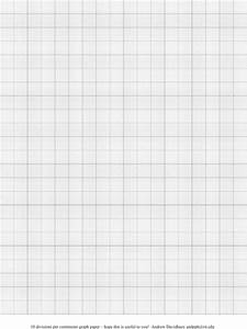 download graph paper templates for free formtemplate With 1 cm graph paper template word