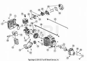 Mtd M2510 41adz03c758  41adz03c758 M2510 Parts Diagram For