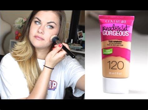 Covergirl Ready, Set Gorgeous Foundation  First
