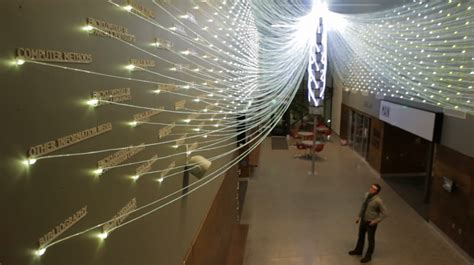 fiber optic installation lights up library queries