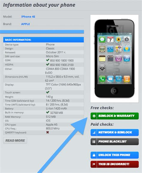 how to tell if iphone is unlocked iphone unlock check via imei how to tell if it s factory
