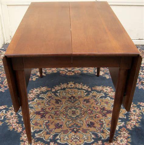 willett cherry drop leaf dining room table wsix