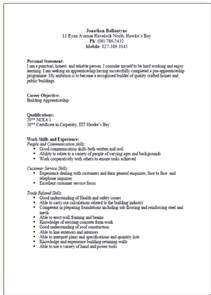 do you use person in a resume cv formats and exles