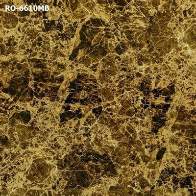 แกรนิตโต้ ลายหินอ่อนเคลือบขัดเงา เอ็มเพอราโด สีน้ำตาลเข้มลายหินอ่อน 60x60 ซม. เกรด A - Jadeplus