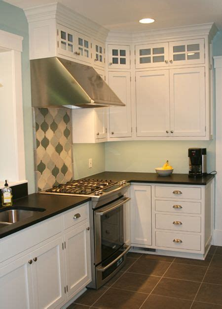 pictures of white kitchen cabinets with granite custom designed and built white lacquered solid maple