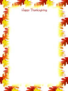 Free Printable Thanksgiving Stationery Templates