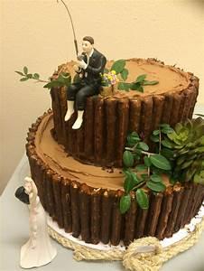 u0026quot, fishing, u0026quot, , groom, u0026, 39, s, cake