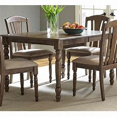 Candlewood Casual Bow Shaped Rectangular Leg Table