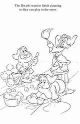 Coloring Disney Quiver Snow Colorear Schneewittchen Dibujos Coloriage Enanos Sheets Colouring Princess Prinzessin Neige Blanche Kleurplaten Tela Augmented Reality Malvorlagen sketch template