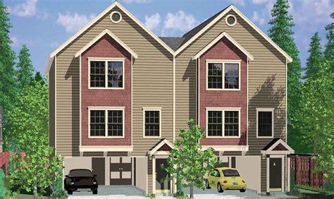images plans for duplex houses duplex plans for narrow lots studio design gallery