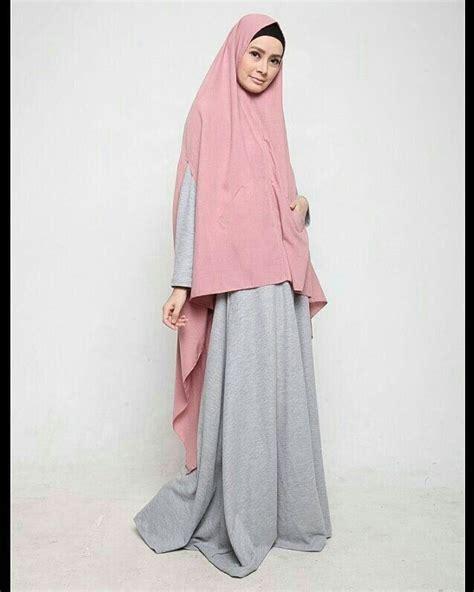 khimar syari images  pinterest hijab fashion