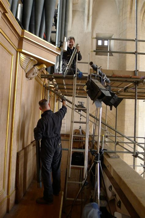 refurbishment work  started  guildford cathedral